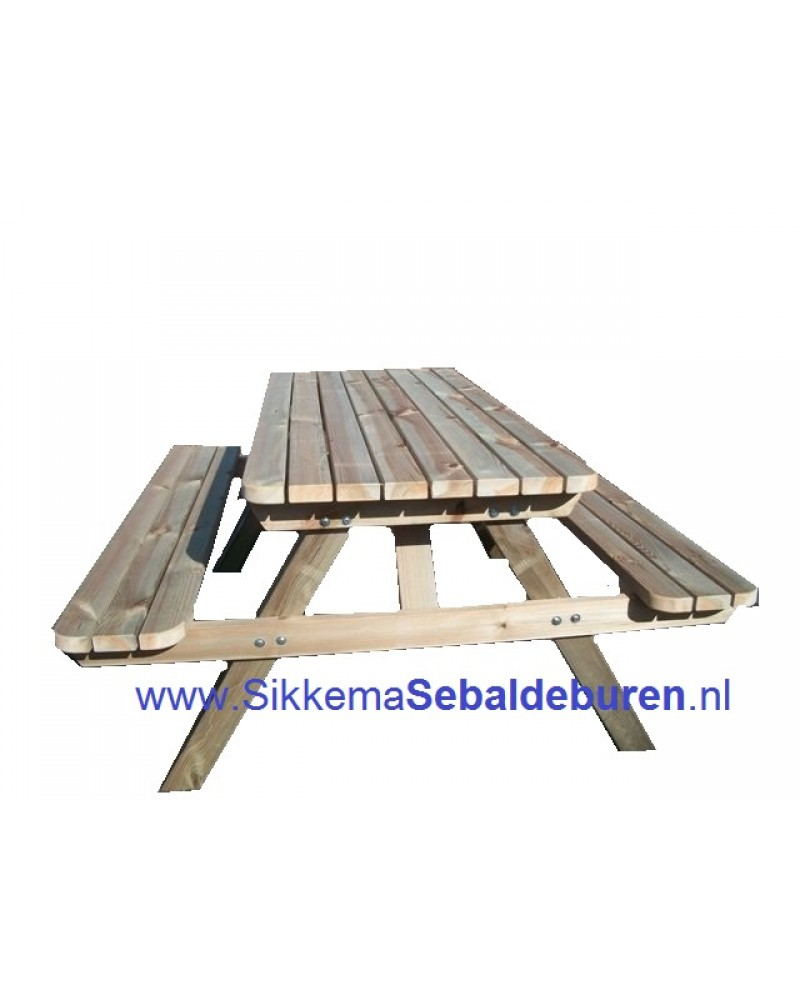 Top Bestel Picknicktafel 45MM (M) producten online | Sikkema Sebaldeburen CR02